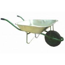 Тачка садовая 1 колесо 65л